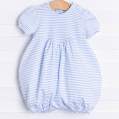 Squiggles Chloe Bubble, Blue Stripe