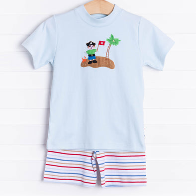 Squiggles Pirate Island Short Set