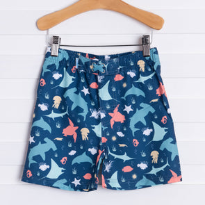 Rugged Butts Under The Sea Swim Shorts