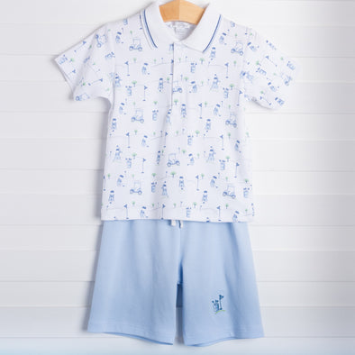 Tee Up Shorts Set
