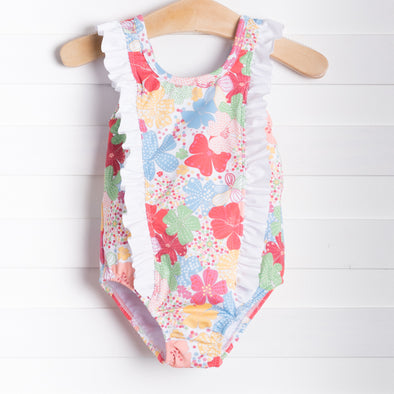 Little English Fancy Floral One Piece