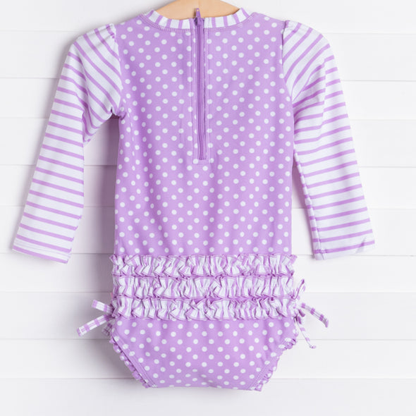 Lilac Dot One Piece
