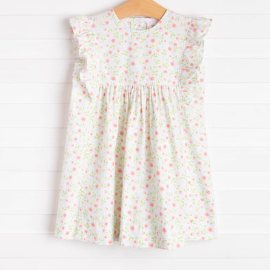 Little Pink Flowers Dress, Pink