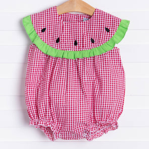 Three Sisters Watermelon Romper
