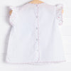Little English Flower Tea Blouse