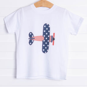 Patriotic Airplane Graphic Tee