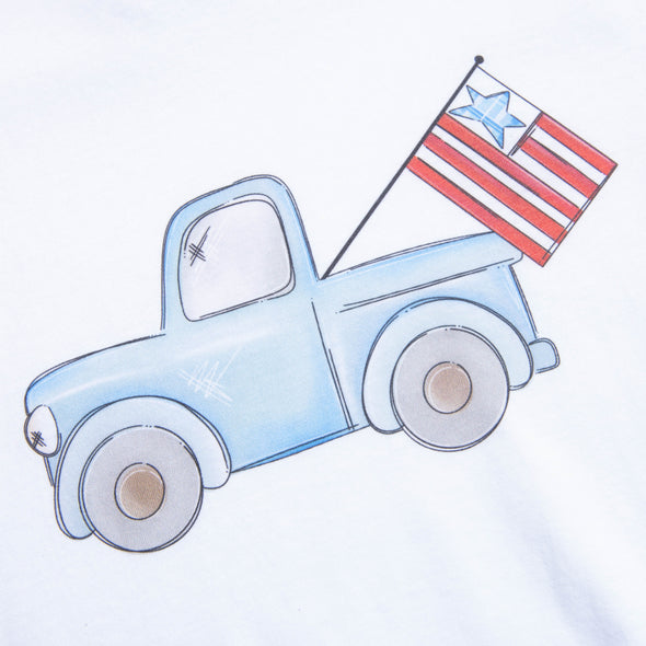 Patriotic Truck Graphic Tee