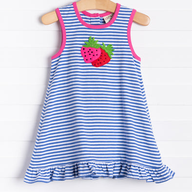 Clara Dress, Strawberries