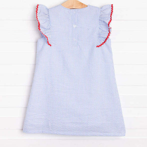 American Dreamin' Dress, Blue