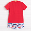Swimming Along Short Set, Red