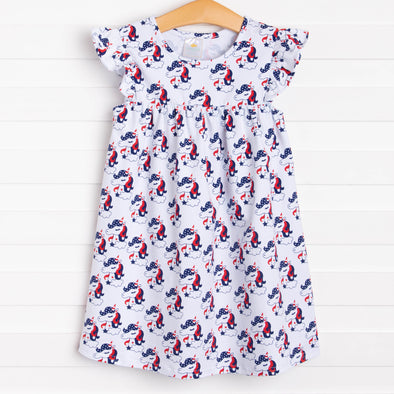 Americorn Dress, Navy