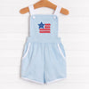Pretty and Patriotic Romper, Blue