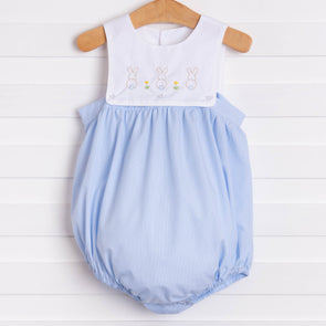 Baby Sen Blue Bunnies Bubble
