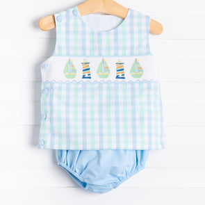 Gone Sailing Diaper Set