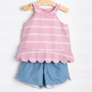 Set Sail Shorts Set