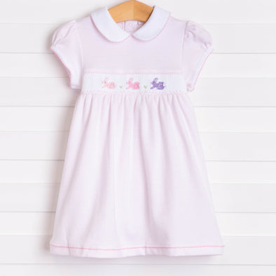 Magnolia Baby Easter Bunny Classics Smocked Dress Set