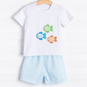 Three Little Fishes Short Set