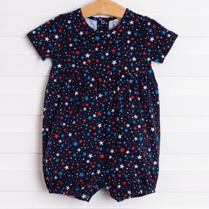 Star Spangled Short Romper