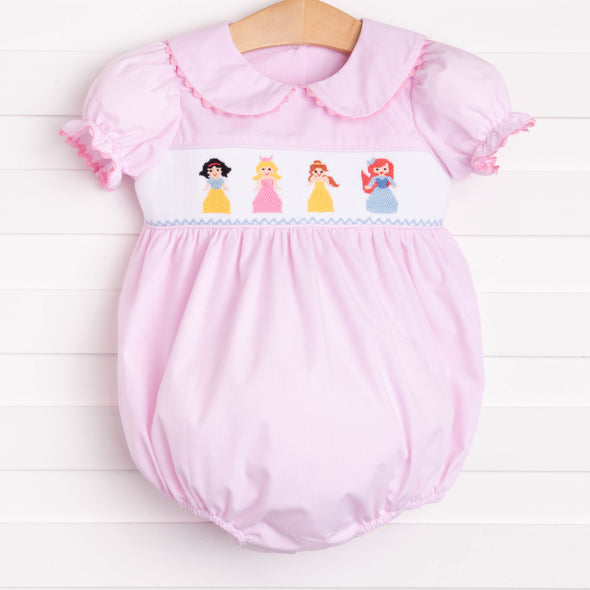 Princess Party Smocked Bubble, Pink