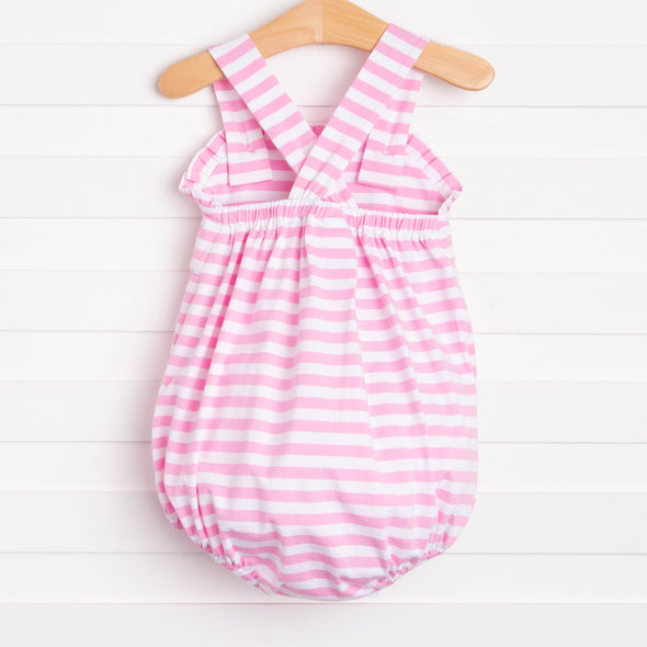 Miss Mouse Ruffle Sunsuit, Pink