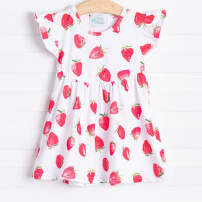 Strawberry Patch Dress