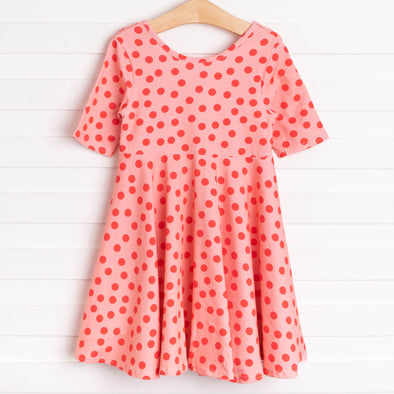 Leah Dress, Red Dots