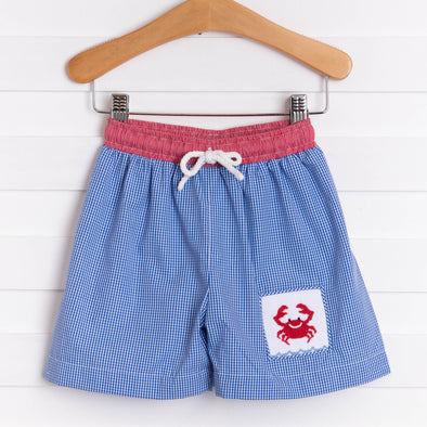 Cute and Crabby Swim Trunk