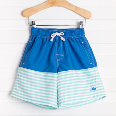 Daniel Stripe Swim Trunks