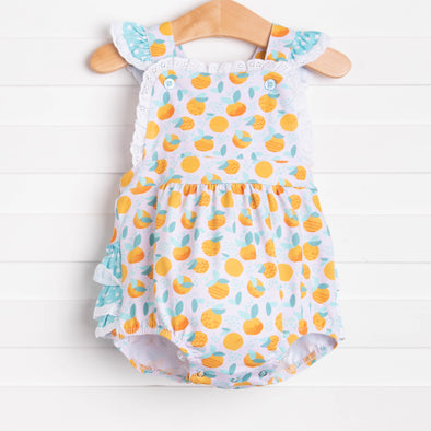 Stuck On Sunshine Sunsuit, Orange