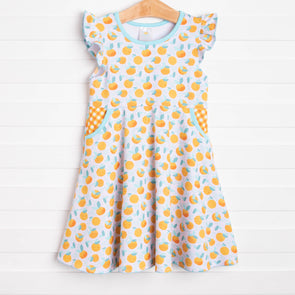 Stuck On Sunshine Dress, Orange