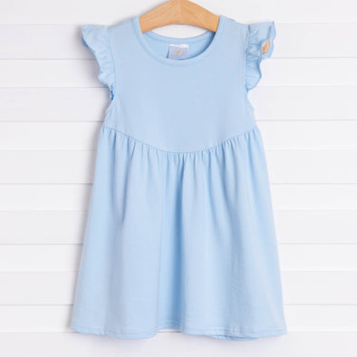 Olivia Dress, Light Blue