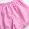 Mouse In The House Ruffle Short Set, Pink