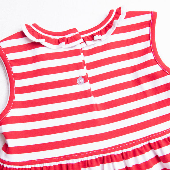 Miss Mouse Dress, Red