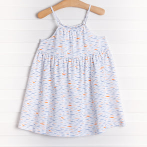Squiggles School of Fish Sundress