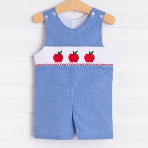 A is for Apple Smocked Jon Jon