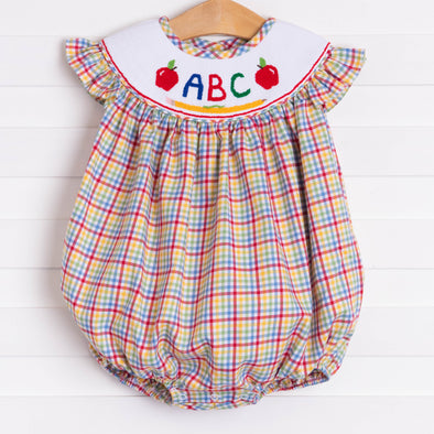 ABC Smocked Bubble