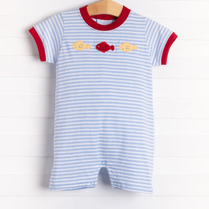 Little English Fish Trio Romper