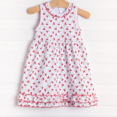 Magnolia Baby Cheery Cherry Dress Set