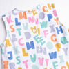 Alphabet Knit Diaper Set