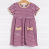 Florida State Popover Dress, Garnet