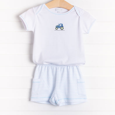 Magnolia Baby Tractor Time Short Set