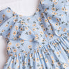 Eliza Dress, Blue Floral