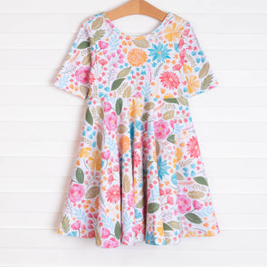 Time To Bloom Dress, Floral