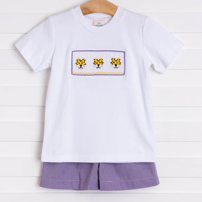 Louisiana Smocked Short Set