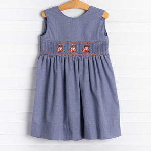 Stitchy Fish Tiger Dress