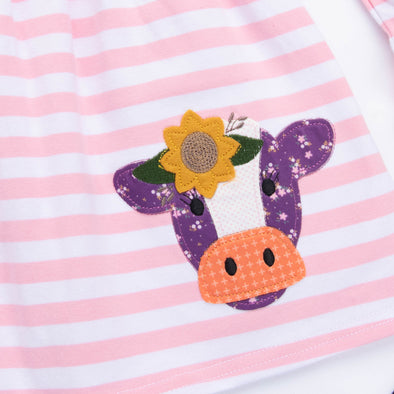 Friendly Fox Applique Shirt
