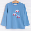 Vroom! Applique Shirt, Party Blue
