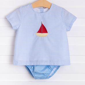 Out At Sea, Boys Diaper Set
