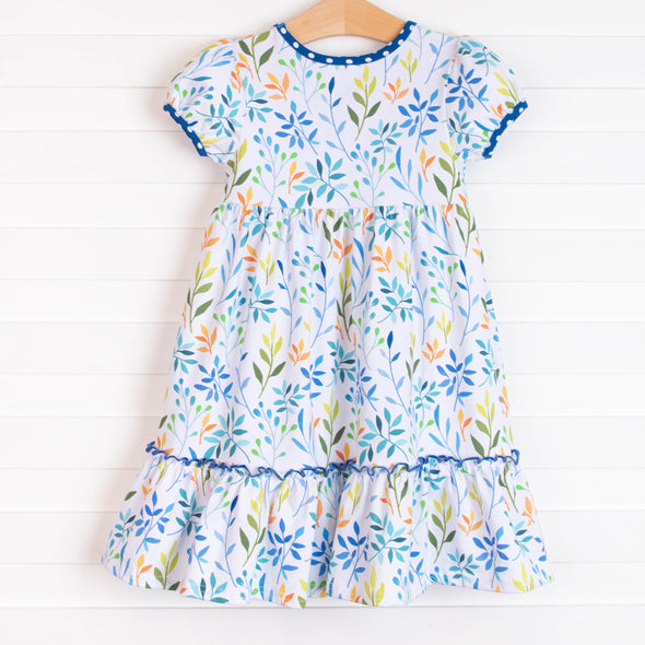 Life Is But A Breeze Dress, Blue