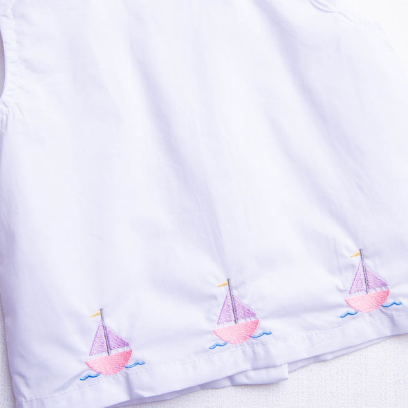 Out At Sea, Girls Diaper Set
